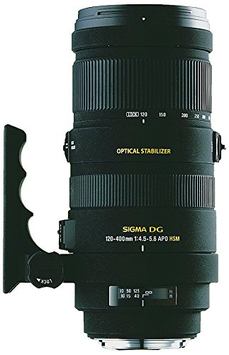 Review Sigma 120-400mm f/4.5-5.6 AF APO DG OS HSM Telephoto Zoom Lens for Nikon Digital SLR Cameras