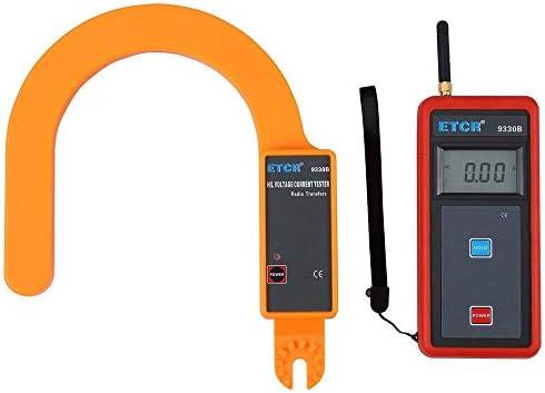Yadianna 精密機器ポータブルデジタル大ジョーズ漏れ電流クランプテスタETCR9330BワイヤレスH // L電圧は、現在のメータ0.00A〜9999Aフック