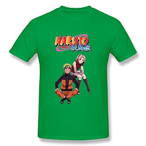 wsb-mens-t-shirts-new-design-naruto-ninja-customlized-tee-forestgreen-size-xl