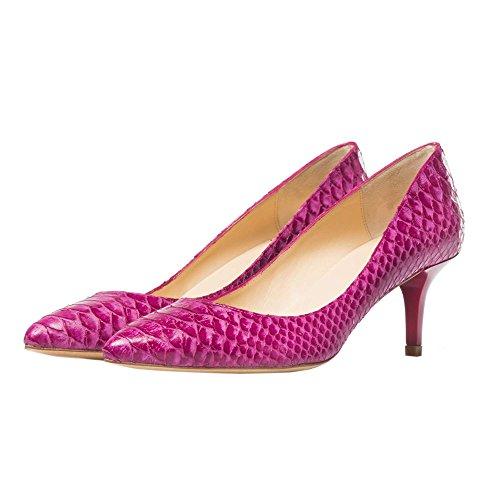 Bajo Salon Orquidea Orquídea The Heel Pink Serpiente SnEUtA