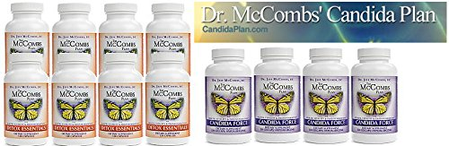 Dr. Mccombs Candida Cleanse Set by Dr. McCombs Candida Plan