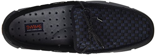 Woven Swims Mocassins Loafer Black Schwarz 001 Lace Homme 7rrqwE6