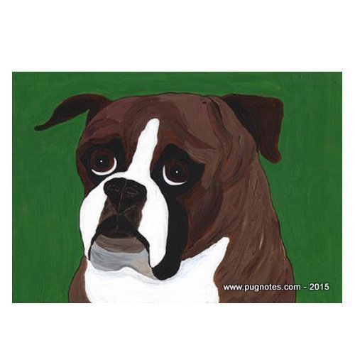 Boxer Note Cards by Melissa Langer