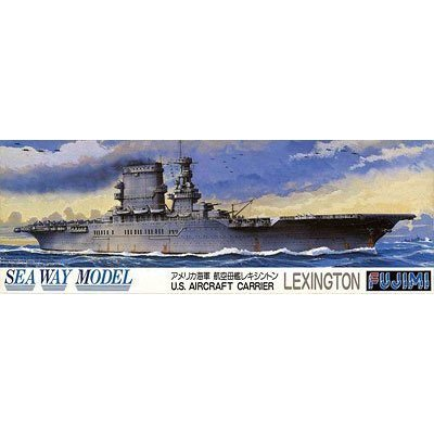 "Fujimi 1/700 U.S. Aircraft Carrier Lexington"" """