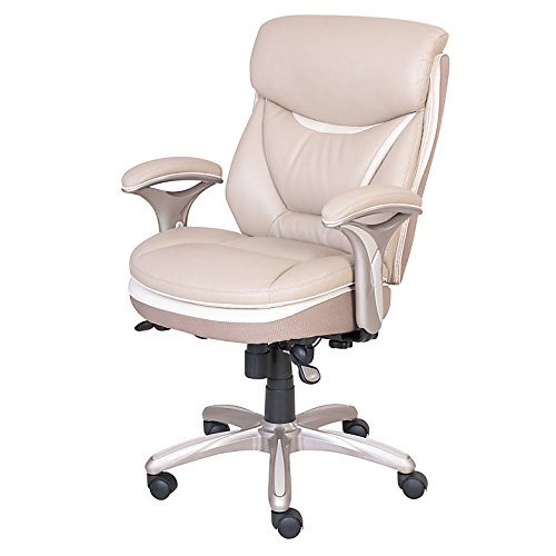 Admirable Serta Smart Layers Verona Manager Chair Ivory Champagne Pabps2019 Chair Design Images Pabps2019Com