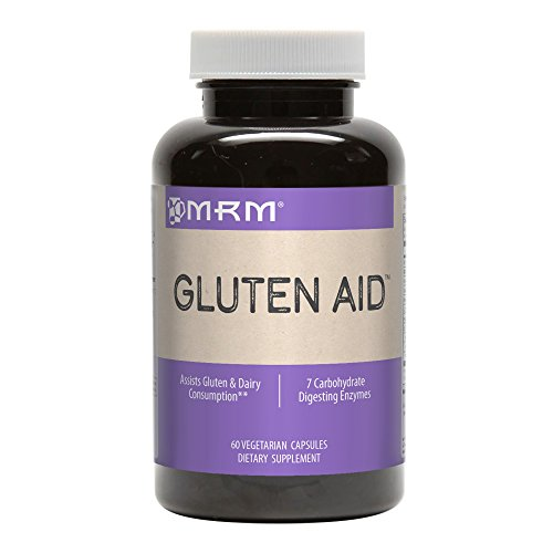 MRM Gluten Free - Assists Gluten and Dairy Consumption, 60-Count vegetarian capsules