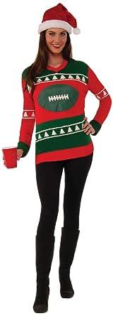 Forum Mens Football Ugly Christmas Sweater, Multi, Medium