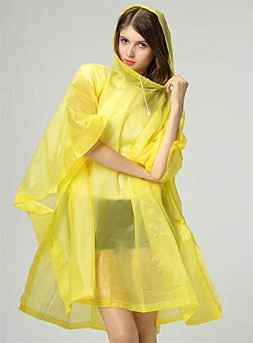 Matériau Poncho En Haute À Translucide Capuche Adulte Raincoat Portable Dame Qualité Vélo Veste Casual Vêtements Pluie Unisexe Gelb De 61cwqHPWZ