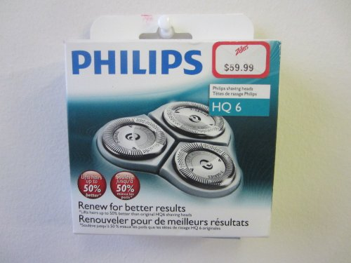 Quadra Action Replacement Heads (Philips Norelco HQ6/3 Quadra Action Replacement Shaving Heads)