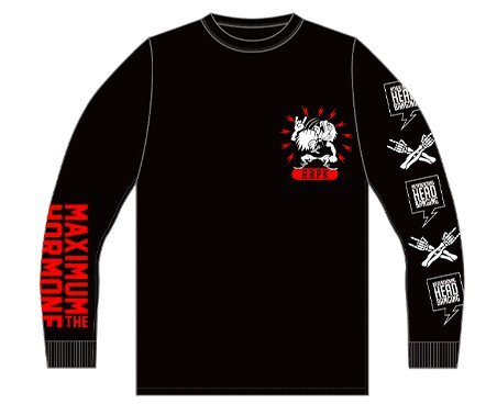 マキシマムザホルモン 耳噛じる真打ツアー ロングTシャツ サイズ XLの商品画像