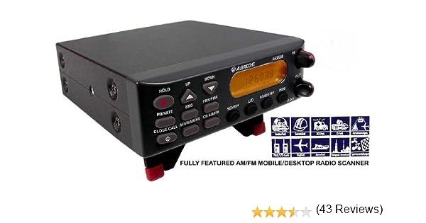 ALBRECHT AE355 M - Escáner de radiofrecuencia: Amazon.es: Informática