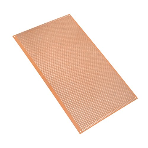 Printed Circuit Board Thickness - uxcell 18x30cm Single Sided Universal Paper Printed Circuit Board Thickness 1.6mm for DIY Soldering Brown 1pcs