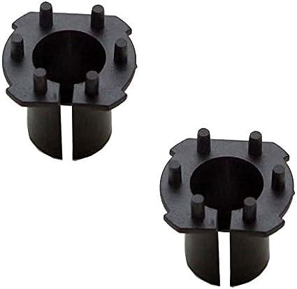 2x H7 Xenon HID Bulb Headlight Adapters Holders For Mazda 3 5 6 CX-7 MX-5 CX-7