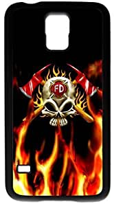 Generic Firefighter Courage Under Fire -case for Samsung Galaxy S5 Black Case