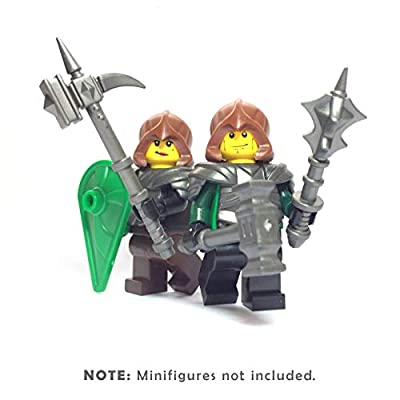 BrickWarriors Cleric Knight Minifigure Accessories: Toys & Games
