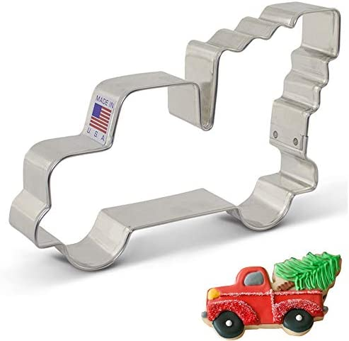 Vintage Pickup Christmas Cookie Cutter product image