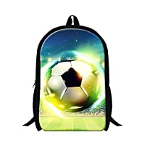 GIVE ME BAG Generic Fashionable Backpacks for Students Football School Bags for Children
