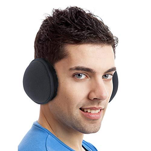 Luther Pike Seattle Ear Warmers For Men /& Women Super Soft Winter Earmuffs Adjustable Headband Warm Ear Muffs