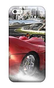 Elliot D. Stewart's Shop High Grade Flexible Tpu Case For Iphone 5/5s - Outrun