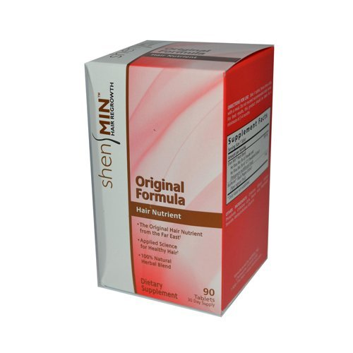 Shen Min Hair Nutrient Original Formula - 90 Tablets -pack of 6 by Shen Min