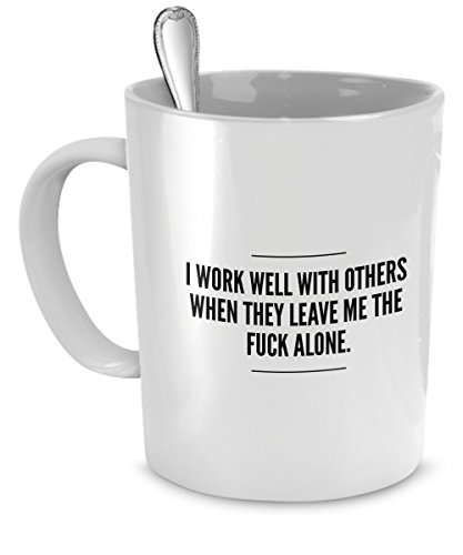 Leave Me Alone Mug Introvert product image