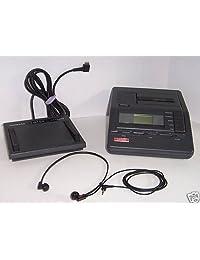 Lanier vw 210 VW 210 microcassette transcriber con pedal y auriculares con micrófono