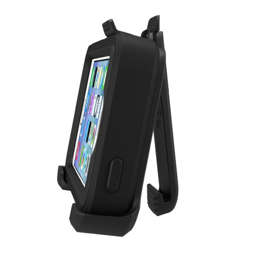 OtterBox Defender Series Case for iPhone 5/5s/SE - Black - Frustration Free Packaging by OtterBox (Image #3)