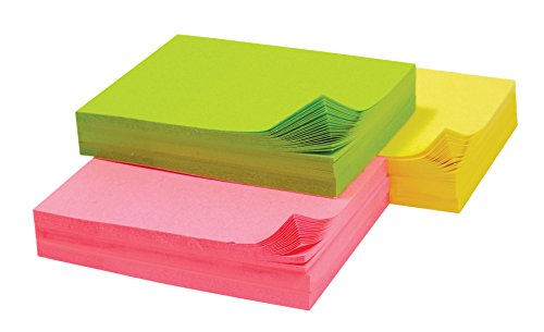 Baumgartens Adhesive Mini Notepad 1 Each Assorted Colors (Pack of 480) (77100) by Baumgarten's