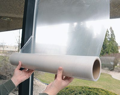 12' x 200' Window Protection Film - Clear (1.5 mil) (1 Roll) - AB-110-9-04 Miller Supply Inc