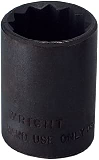 """product image for Wright Tool 34124 1/2"""" Drive 12 Point Standard Socket, 3/4"""""""