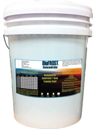 BioFROST Concentrate 5 Gallon - Biobased, Food Contact Safe, Inhibited Propylene Glycol by Orison