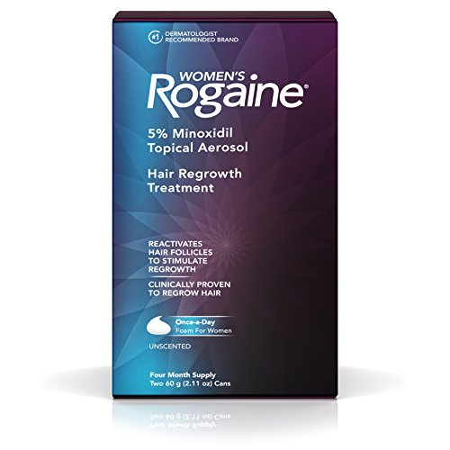 Womens Rogaine Treatment Thinning Minoxidil