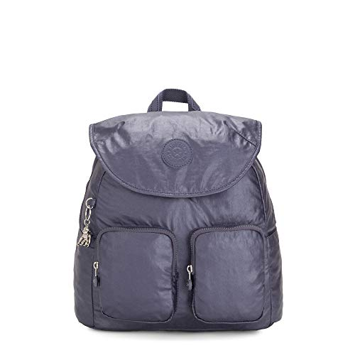 Kipling Fiona Medium Metallic Backpack