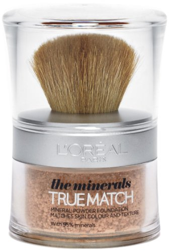 Loreal True Match the Minerals Powder Foundation - Golden Ivory (W1) - Ivory Golden