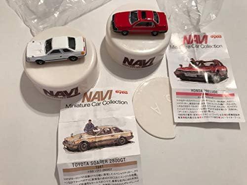 DyDo ダイドー ノベルティ NAVI ミニチュア カーコレクション 2種 ソアラ プレリュード ホビーアイテム