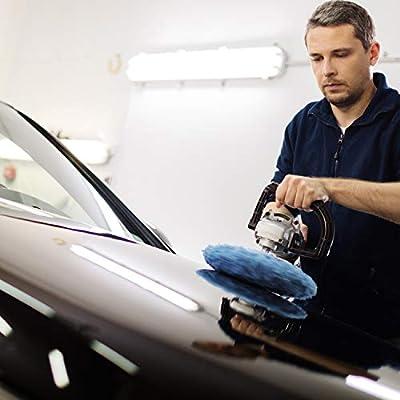 20 Pieces Car Polisher Pad Bonnet Microfiber Max Baxer Bonnet Polishing Bonnet Buffing Pad Cover (5-6 Inches): Automotive