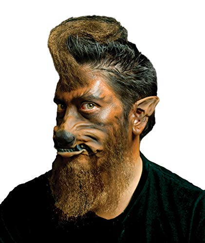 Woochie by Cinema Secrets Werewolf Ears Tips, Multi,