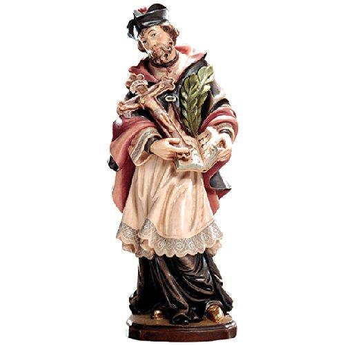 Demi Demi Demi Art - Heiligenfigur Hl. Johannes von Nepomuk aus Berg-Ahorn Holz geschnitzt und von Hand bemalt, 36 cm B00KMYVD2S Figuren 2d35f9