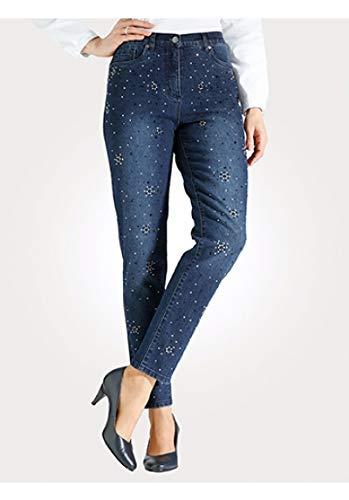 Mona Pantalones Pantalones Vaqueros elásticos para Mujer con ...