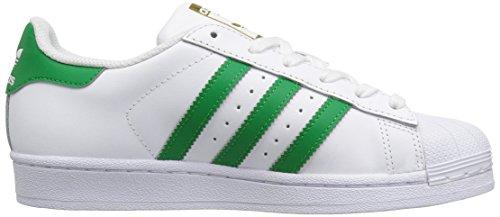 Adidas Originals Superster Stichting J Sneaker Wit / Fairway / Metallic / Goud