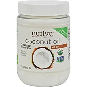 NUTIVA COCONUT OIL,OG2,VIRGIN (29 Oz)