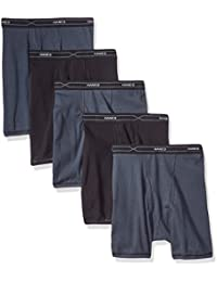Men's 5-Pack X-Temp Comfort Cool Assorted Boxer Briefs