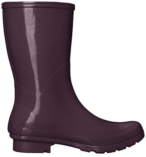 Boots Mid Rain Emma Women's Eggplant Boot Roma SaZnTdn
