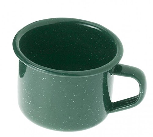 - GSI Outdoors 25206 Enamelware 4 fl oz, Green Espresso Cup