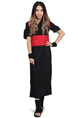 Temari Shippuden Costume (SDWKIT Naruto Shippuden Hidden Sand Village Jonin Shinobi Temari 3rd Ver Outfit)