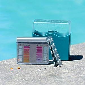 Bayrol Pool-Tester 287123 Pasticche per la misurazione del PH e del cloro nelle piscine, confezione originale