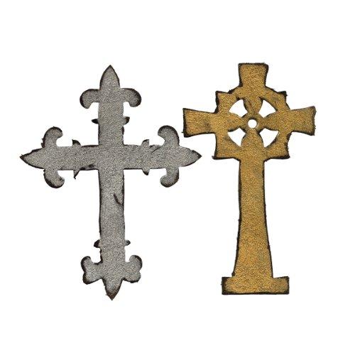 nate Crosses by Tim Holtz (Die Cut Cross)