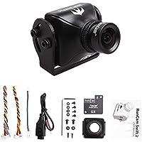 RunCam Swift 2 600TVL FPV Camera 2.5mm Lens Integrated OSD DC 5-36V Support Audio (Black)