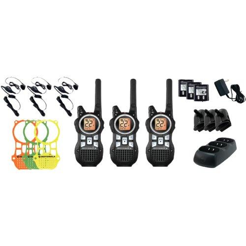 Motorola MR350TPR  Talkabout 2-Way Radio Triple Pack, Outdoor Stuffs