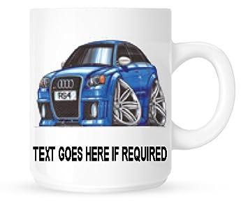 Exceptionnel Koolart Personnalisé 1848 Audi RS4 Mug (personnalisé Gratuit)